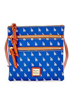 Dooney & Bourke Dodgers Triple Zip Bag