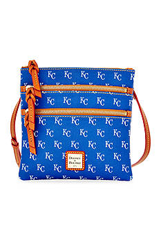 Dooney & Bourke Royals Triple Zip Crossbody