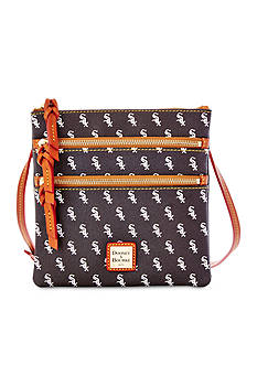 Dooney & Bourke White Sox Triple Zip