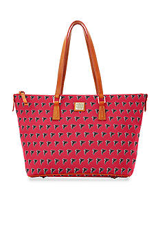 Dooney & Bourke Falcons Zip Top Shopper Bag