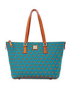 Dooney & Bourke Jaguars Zip Top Shopper Bag