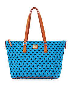 Dooney & Bourke Panthers Zip Top Shopper Bag