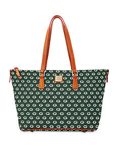 Dooney & Bourke Packers Zip Top Shopper Bag
