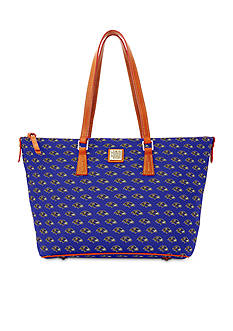 Dooney & Bourke Ravens Zip Top Shopper Bag