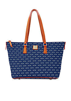 Dooney & Bourke Seahawks Zip Top Shopper Bag