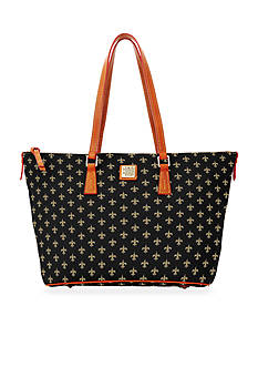 Dooney & Bourke Saints Zip Top Shopper