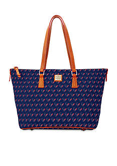 Dooney & Bourke Texans Zip Top Shopper Bag