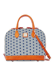 Dooney & Bourke Cowboys Zip Satchel