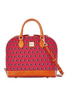 Dooney & Bourke Falcons Zip Zip Satchel Bag