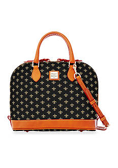 Dooney & Bourke Saints Zip Satchel
