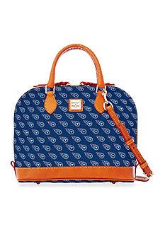 Dooney & Bourke Titans Zip Satchel Bag
