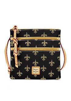 Dooney & Bourke Saints Triple Zip Bag