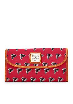 Dooney & Bourke Falcons Continental Clutch