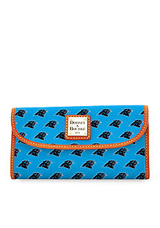 Dooney & Bourke Panthers Continental Clutch