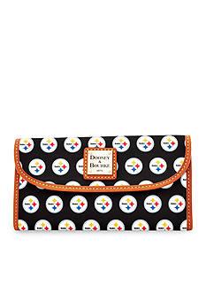 Dooney & Bourke Steelers Continental Clutch