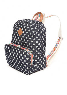Red Camel Polka Dot Dome Backpack