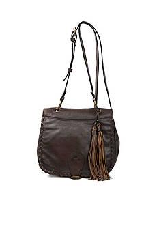 Patricia Nash Soft Veg Tan Karisa Small Saddle Bag