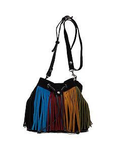 Patricia Nash Suede Elisa Bucket Bag