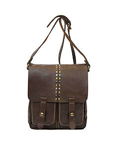 Patricia Nash Studded Collection Armeno Messenger Bag