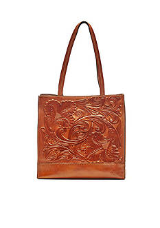 Patricia Nash Tuscan Tooled Toscano Tote Bag