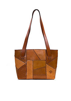 Patricia Nash Patchwork Nevoso Double Zip Tote Bag