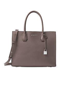 MICHAEL Michael Kors Kors Studio Collection Mercer Large Bonded-Leather Tote