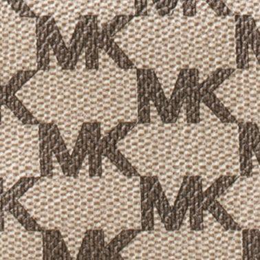 Handbags and Wallets: Natural MICHAEL Michael Kors Kors Studio Collection Natalie Heritage Signature Logo Wallet