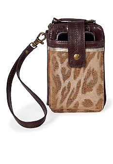 The Sak Leather Smartphone Wristlet