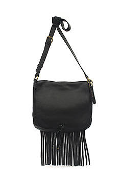 Lucky Brand Handbags Kyle Leather Flap Crossbody