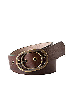 Fossil Vintage Oval Buckle Belt