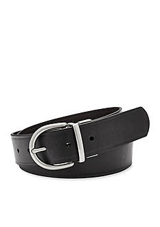Fossil Reversible Metal Keeper Belt