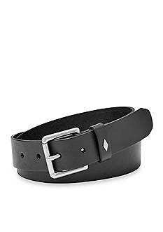 Fossil Diamond Keeper Leather Belt