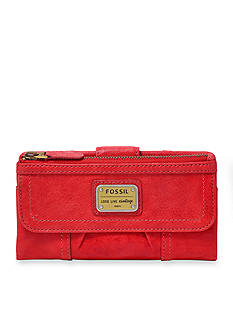 Fossil Emory Leather Clutch Wallet