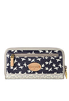 Fossil Key-Per Zip Clutch