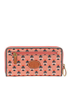 Fossil® KeyPer Zip Clutch Wallet