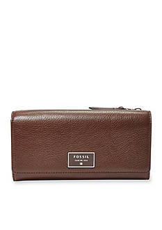 Fossil Dawson Flap Clutch Wallet