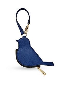 Fossil Bird Coin Bag Charm