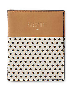 Fossil Printed Passport Case