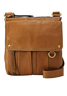 Fossil Morgan Traveler Leather Crossbody Bag