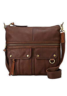 Fossil® Morgan North South Top Zip Shoulder Bag