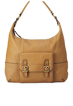 Fossil Tate Leather Hobo