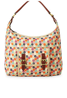 Fossil Tate Fabric Hobo