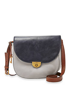 Fossil Emi Large Saddle Bag Crossbody