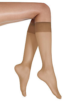 Donna Karan Satin Sheer Knee High