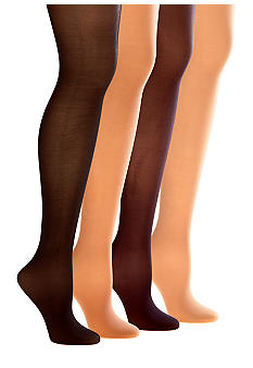 Donna Karan Signature Collection High Waist Sheer Satin Hosiery