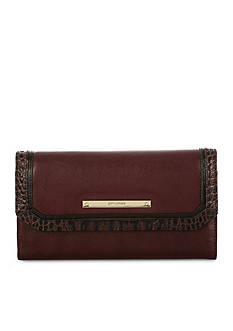 Brahmin Soft Checkbook Wallet Autumn Tuscan Collection