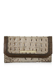 Brahmin Soft Checkbook Wallet Bronte Collection