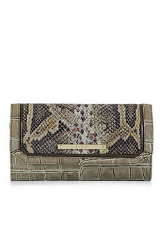 Brahmin Soft Checkbook Wallet Leighton Collection