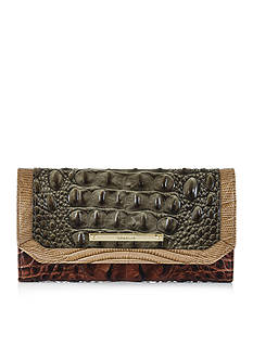Brahmin Soft Checkbook Wallet Nottingham Collection