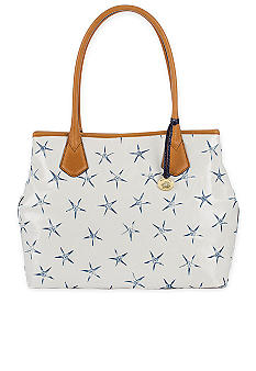 Brahmin Blue Atlantic Anytime Time Tote